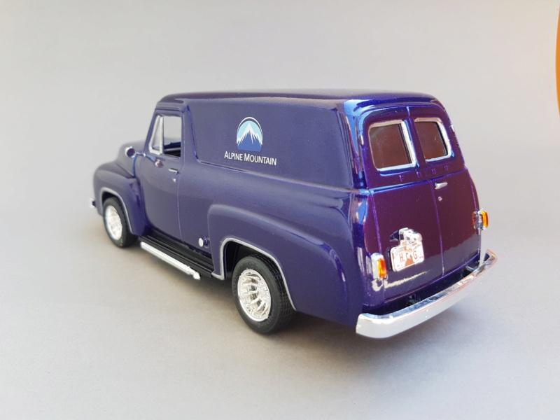 '55 Ford F-100 Panel Van von Revell 1:25 20200924