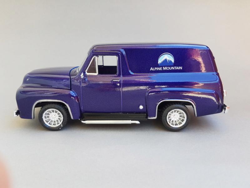 '55 Ford F-100 Panel Van von Revell 1:25 20200925