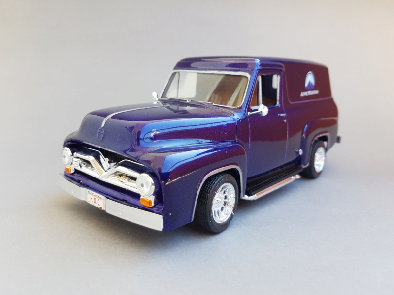 '55 Ford F-100 Panel Van von Revell 1:25 20200926