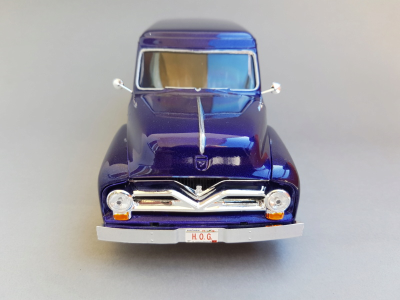 '55 Ford F-100 Panel Van von Revell 1:25 20200927