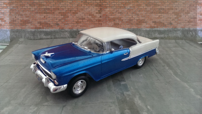 '55 Chevy Bel Air Hardtop Monogram 1:25 Imag4510