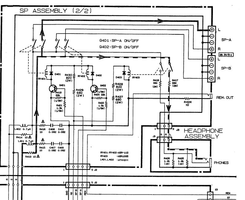 Aiuto su Amplificatore Pioneer a-x540 Protez10