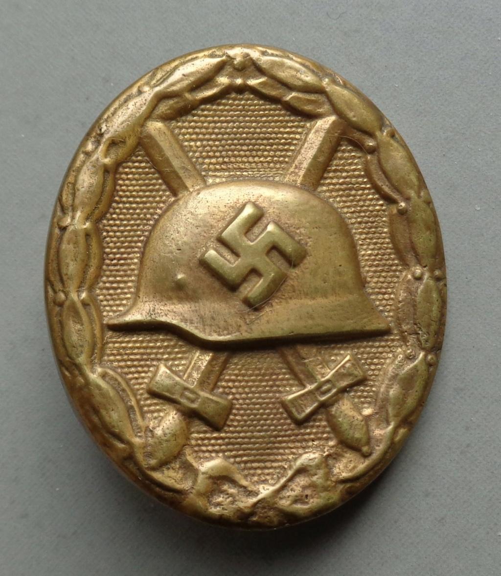 badge des bléssés or  Dsc05210
