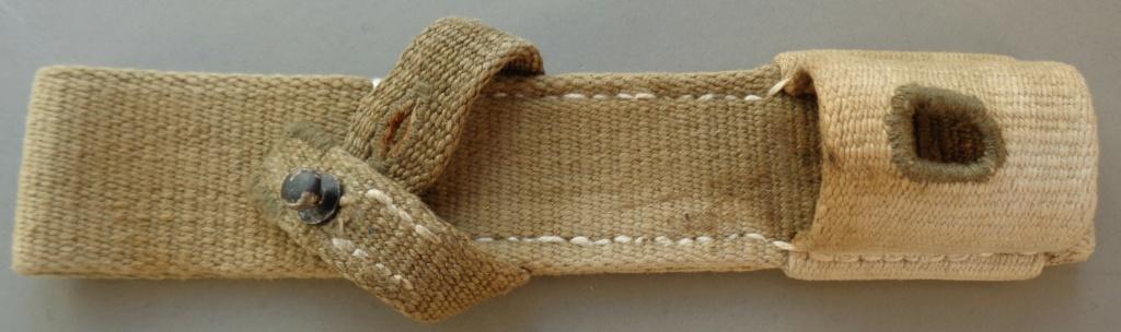 authentification d'un gousset toile pour baionnette de 98 k  Dsc05442