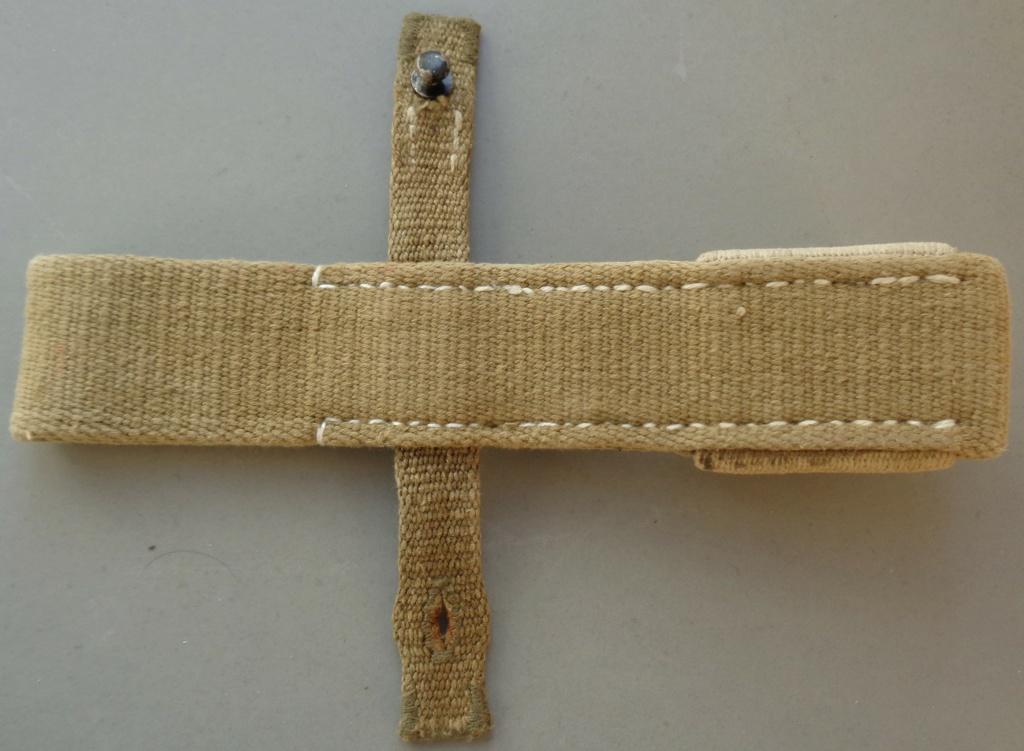 authentification d'un gousset toile pour baionnette de 98 k  Dsc05443