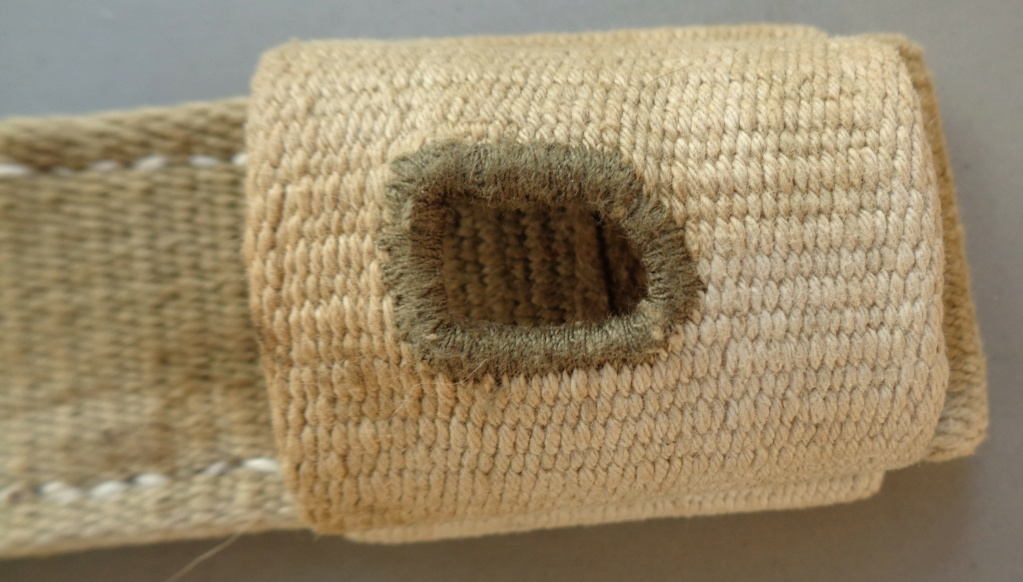 authentification d'un gousset toile pour baionnette de 98 k  Dsc05444