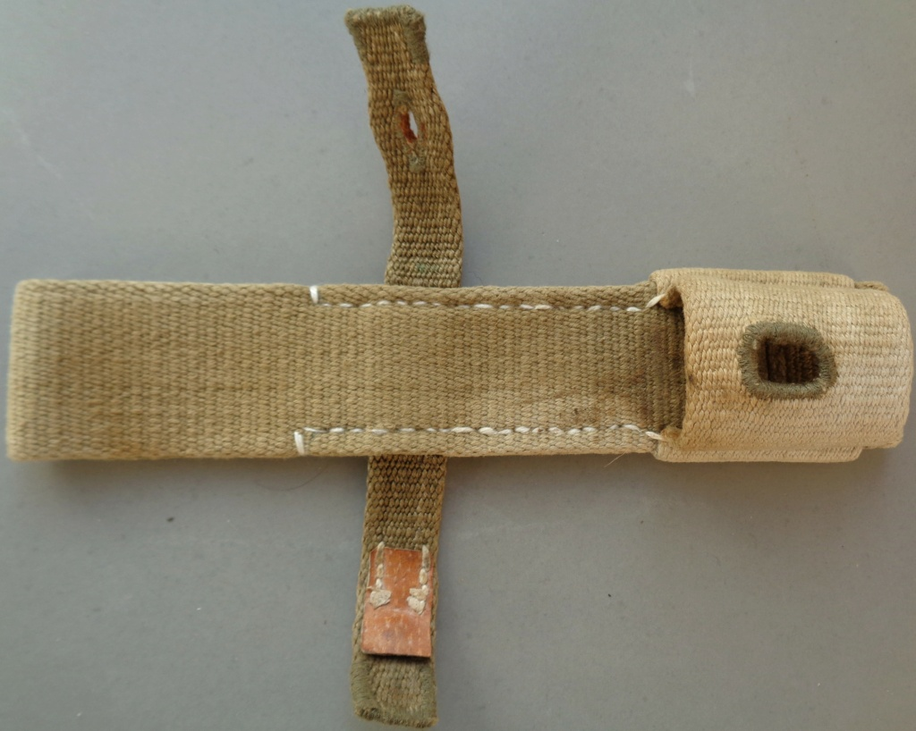 authentification d'un gousset toile pour baionnette de 98 k  Dsc05445