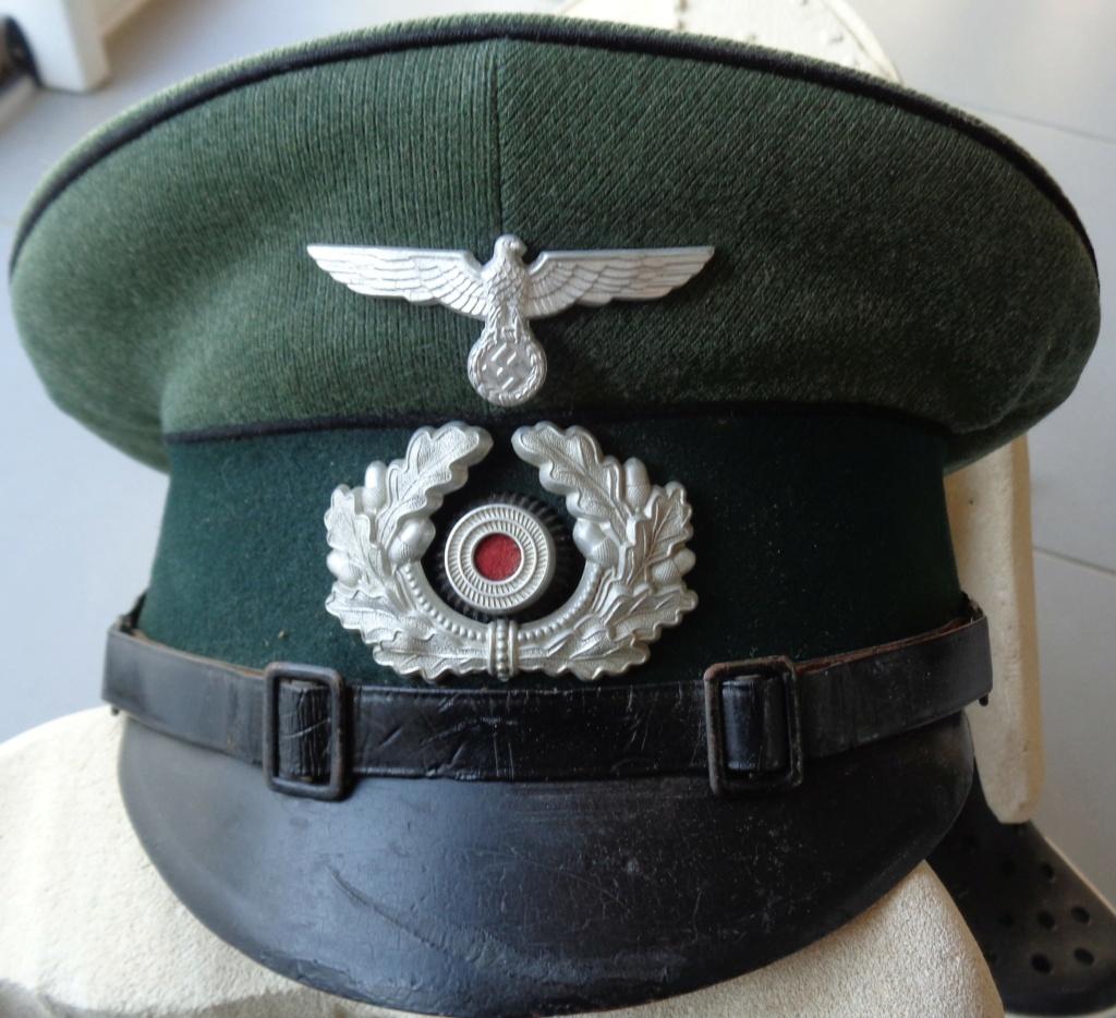 casquette sous officier allemand pionnier  Dsc06121