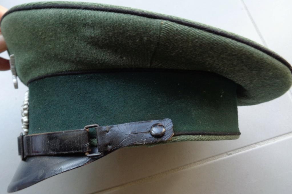 casquette sous officier allemand pionnier  Dsc06123