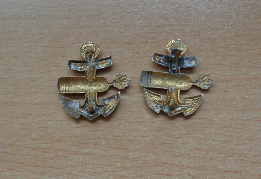 paire d'insignes pour épaulette kriegsmarine  Dsc06424