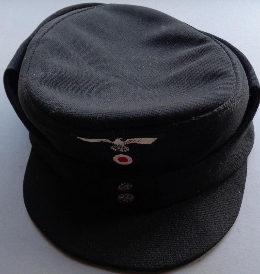 casquette noire allemande inconnue  Dsc06917