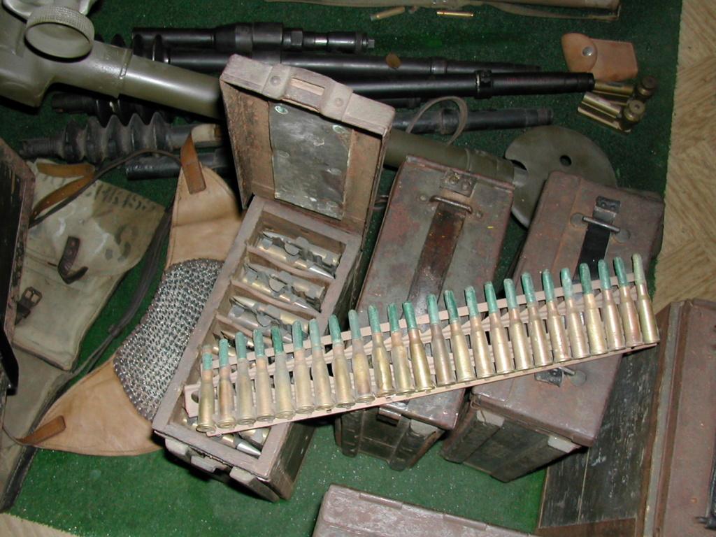 bande rigide pour mitrailleuse Hotchkiss Hochtk11