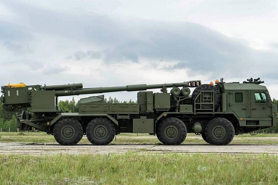 """2S43 """"Malva"""" 152-mm SP howitzer Russia37"""