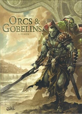 Elfes - Nains - Orcs et Gobelins Ed° Soleil Couv_317