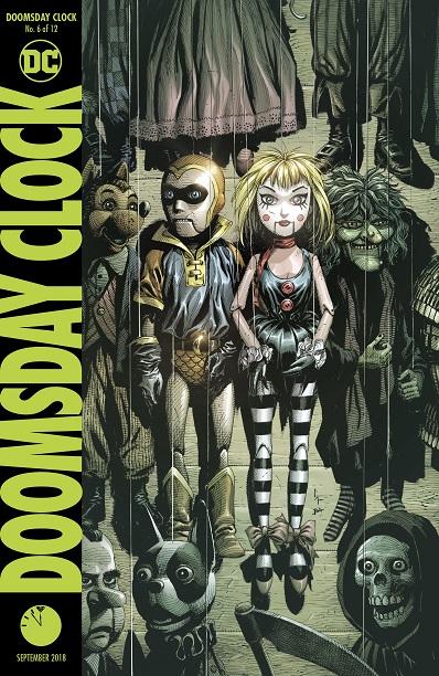 Doomsday Clock (the Watchmen)  2018-2019 Doomsd12