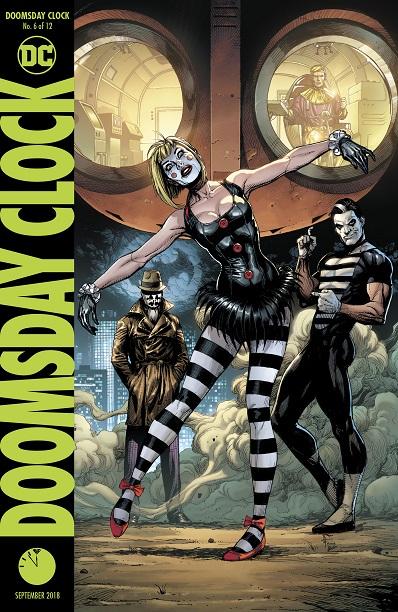 Doomsday Clock (the Watchmen)  2018-2019 Doomsd13