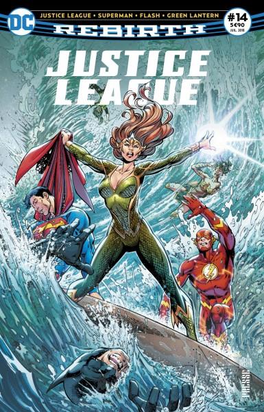 Justice League Rebirth 14 juillet 2018 Justic11
