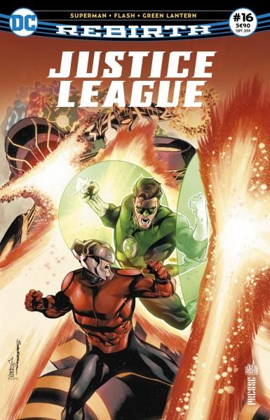 Justice League Rebirth 16 septembre 2018 Justic13