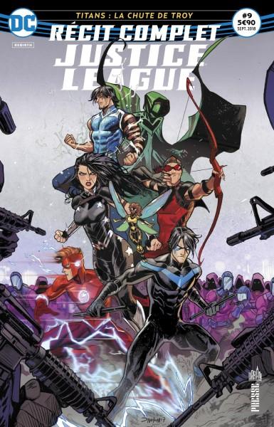 recit complet Justice League rebirth septembre 2018 Recit-13