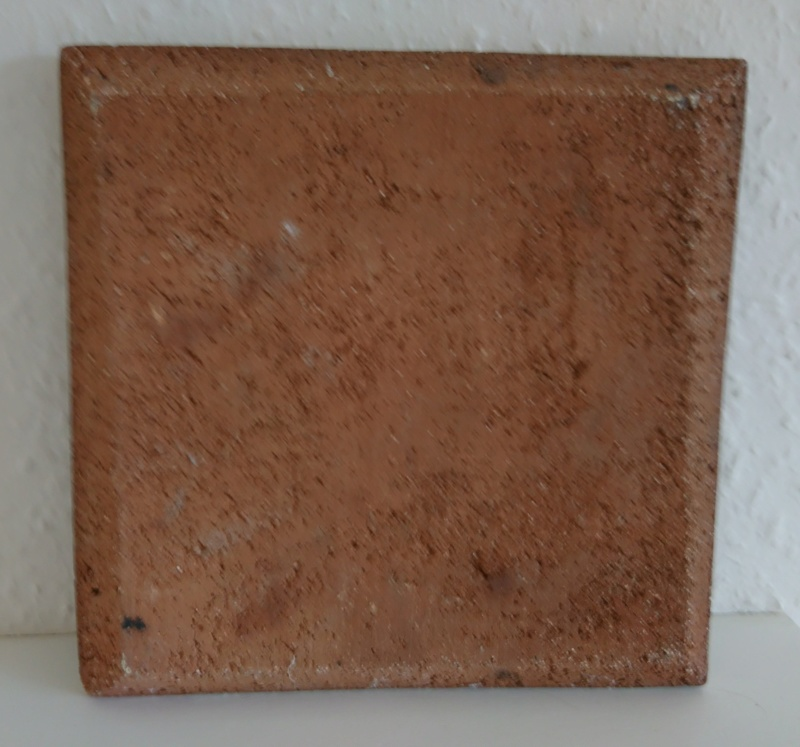 Heavy square tile/plaque - Roland Zobel _2020030