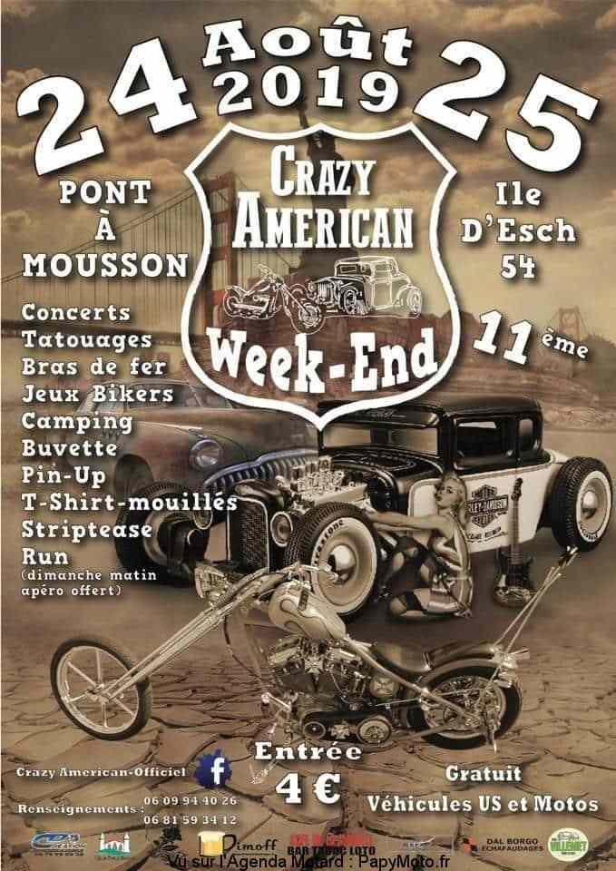Crazy American Week-End  Pont-à-Mousson 24 et 25 Août Amzori10