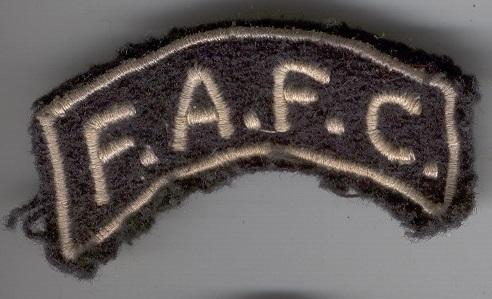 écusson FAFC Fafc10