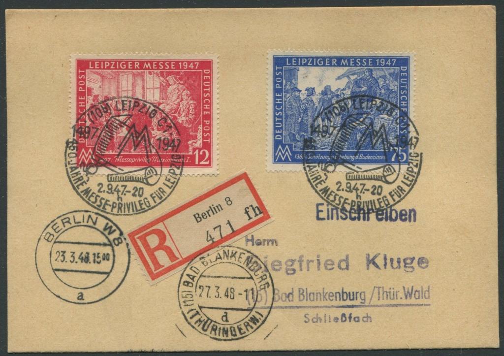 REKO Karte mit MiNr. 965 und 966 Karte_13