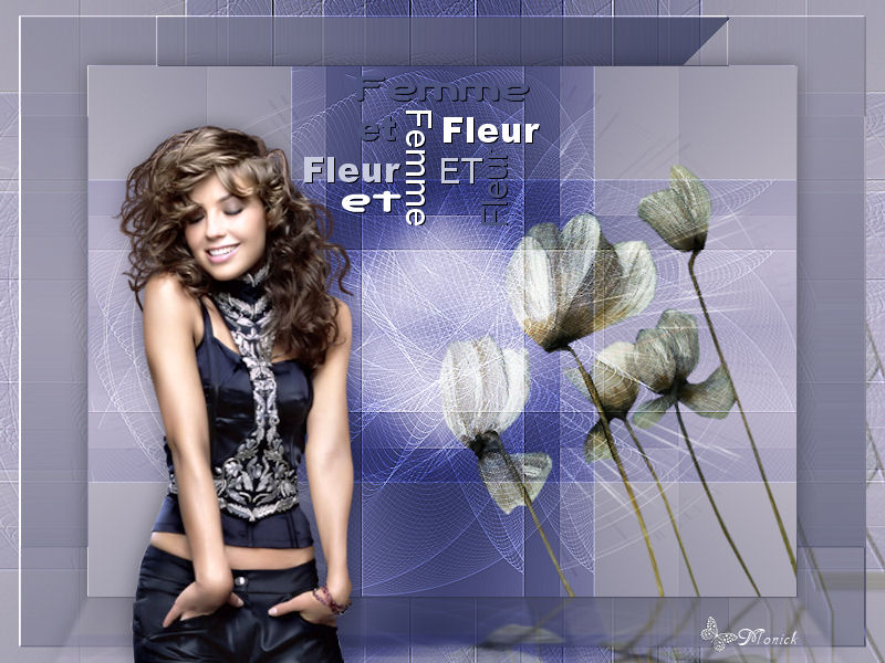 Femme et Fleur Femme11