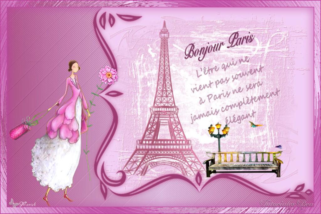 Bonjour Paris(Psp) Paris12