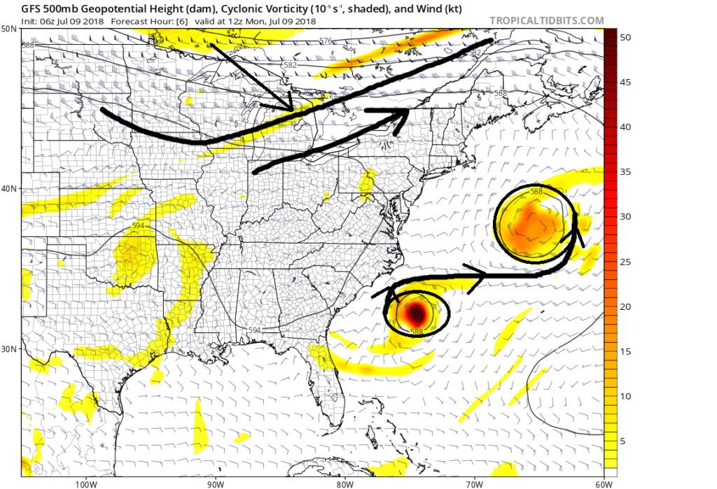 2018 Hurricane Season  500mb_11