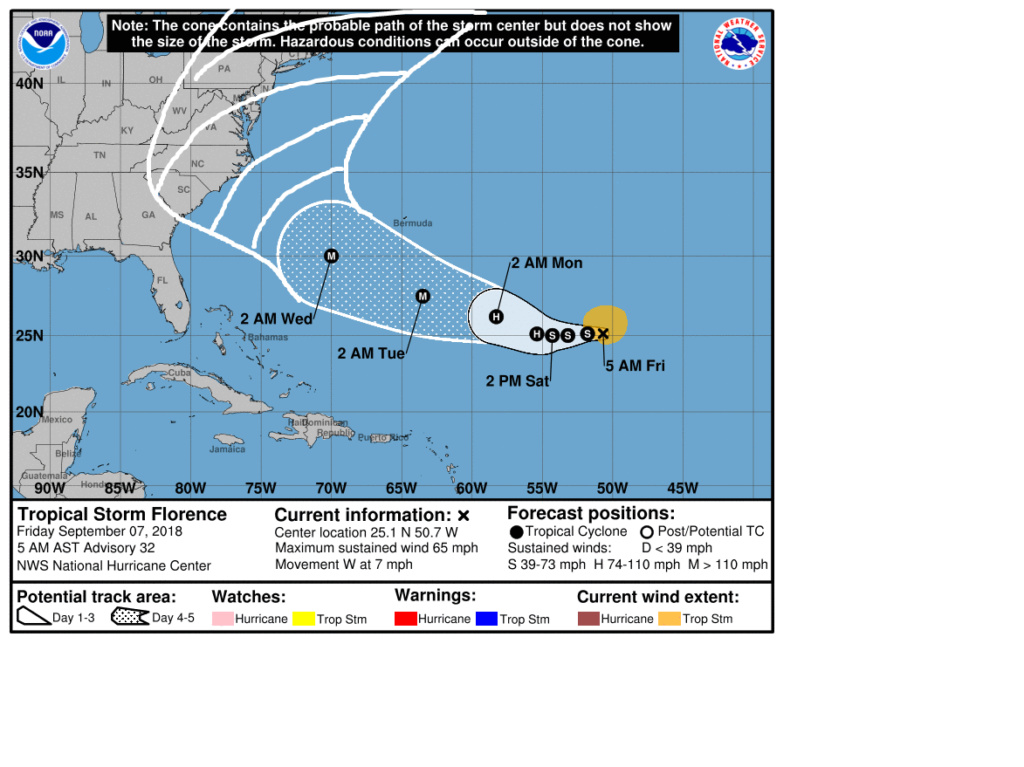 FLORENCE: East Coast Threat or Does She Sleep With the Fishes? Cou10