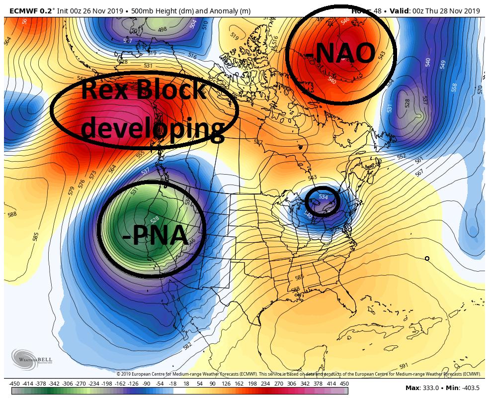 December 1st-3rd 2019 Winter Storm Potential Ecmwf-17