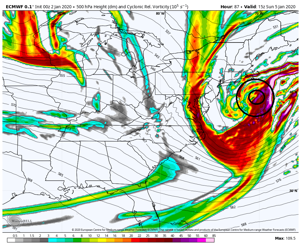 January 2020 Observations and Discussion Ecmwf-38