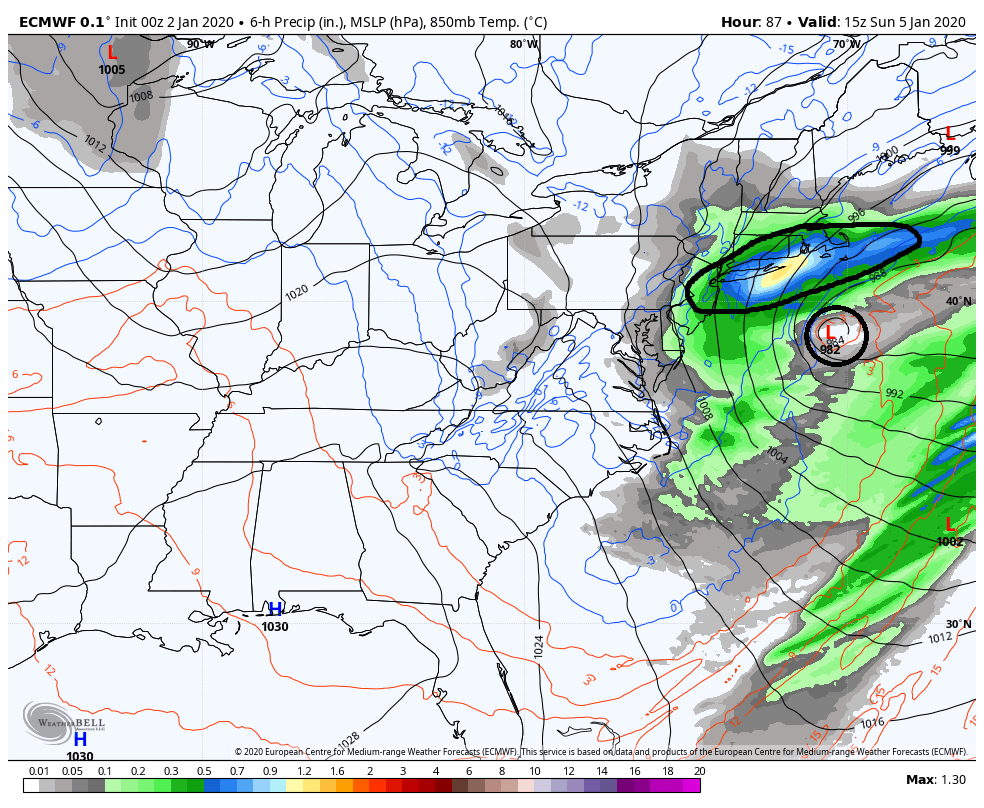 January 2020 Observations and Discussion Ecmwf-39
