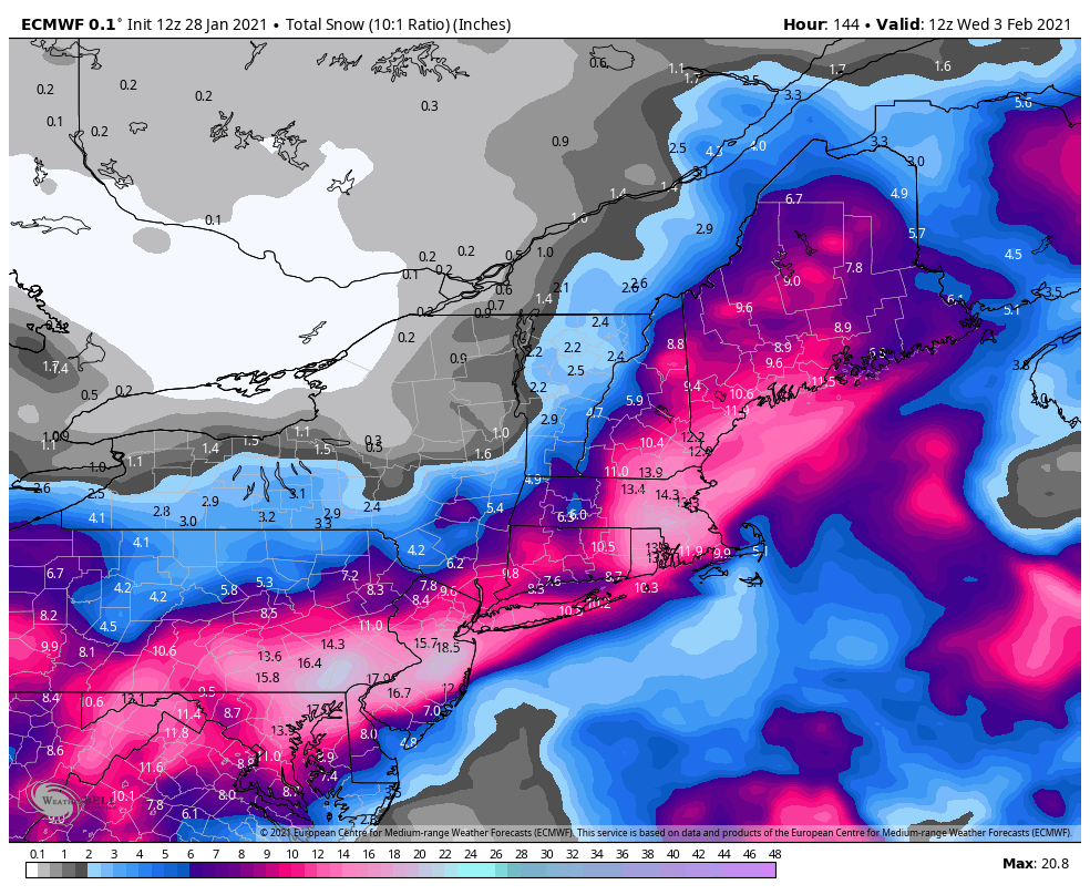 01/31 Possible Winter Storm - Page 6 Ecmwf-52