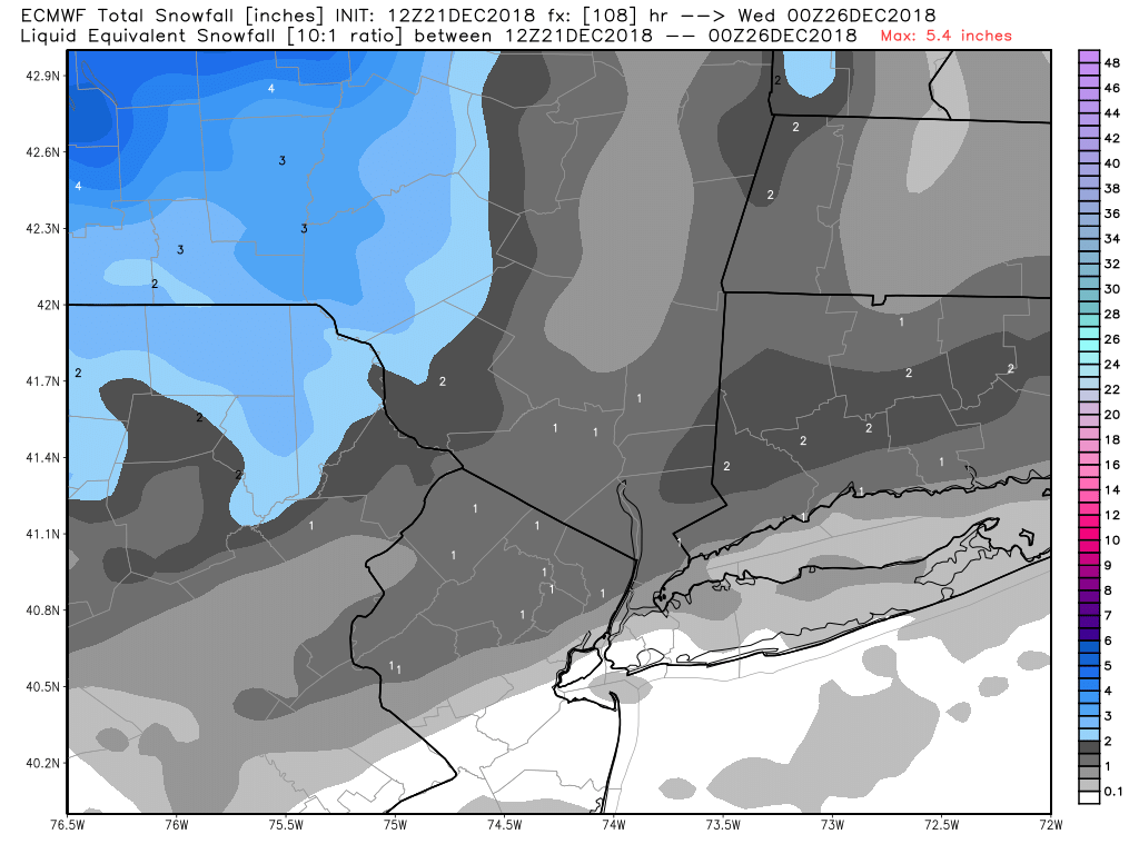 A CHISTMAS EVE MORNING MIRACLE? Ecmwf_41
