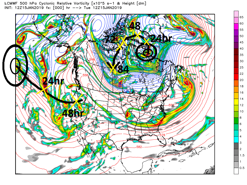 JANUARY 19TH-20TH STORM THREAT Ecmwf_49