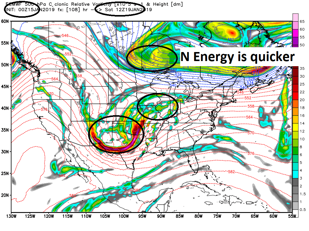 JANUARY 19TH-20TH STORM THREAT Ecmwf_51