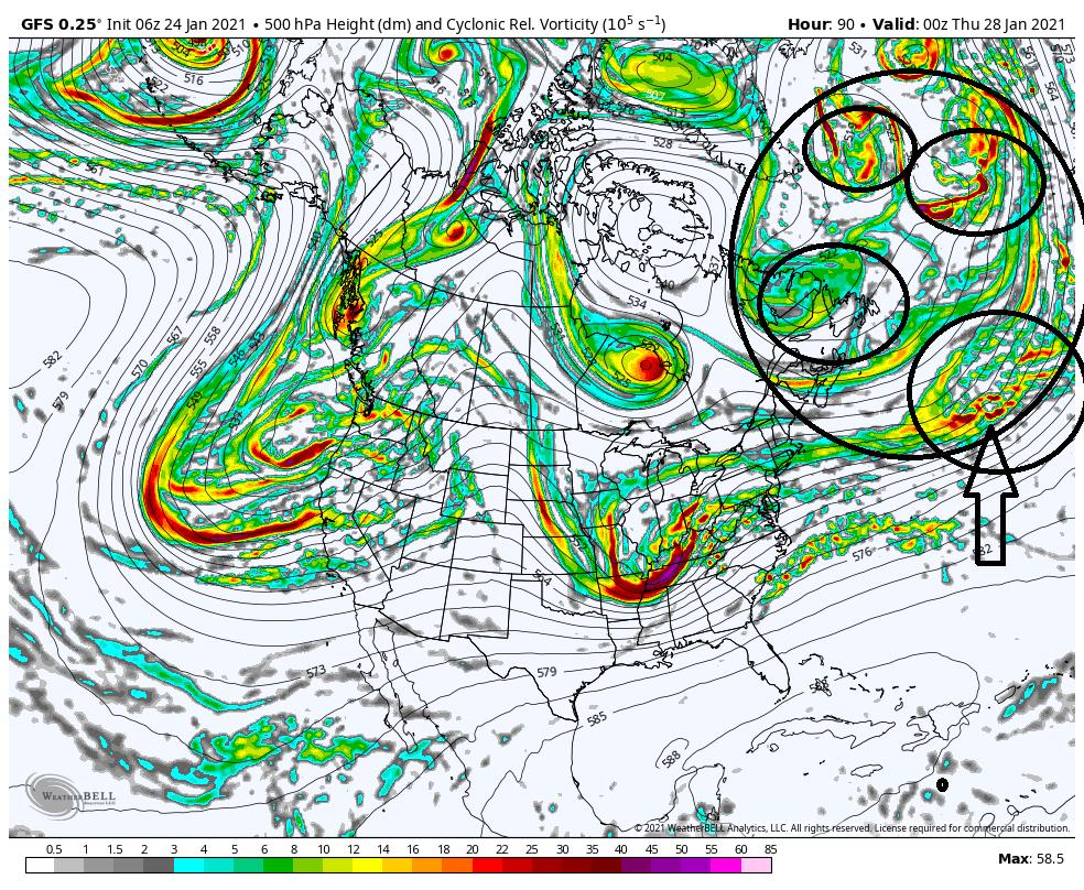 JANUARY 28th Storm Potential Gfs-de21