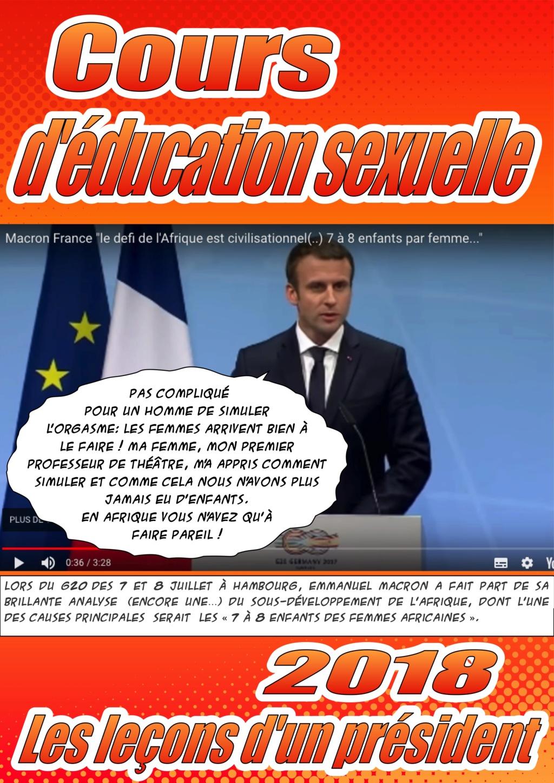 Traits d'esprits, paradoxes et blagues philosophiques - Page 2 Macron11