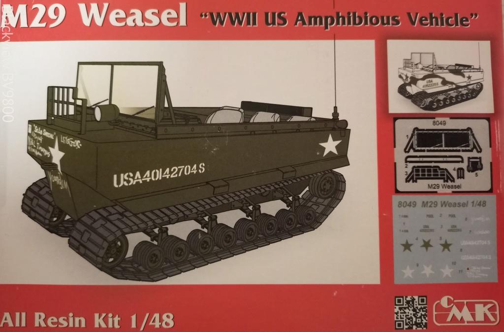 """M29 Weasel C premier """"scratch"""" au 1/48 Img_2013"""