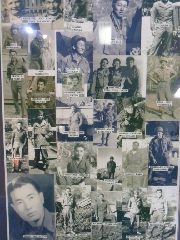 Exposition sur le 442nd RCT dans le USS Hornet (pour Cyril... et les autres !) P1200918