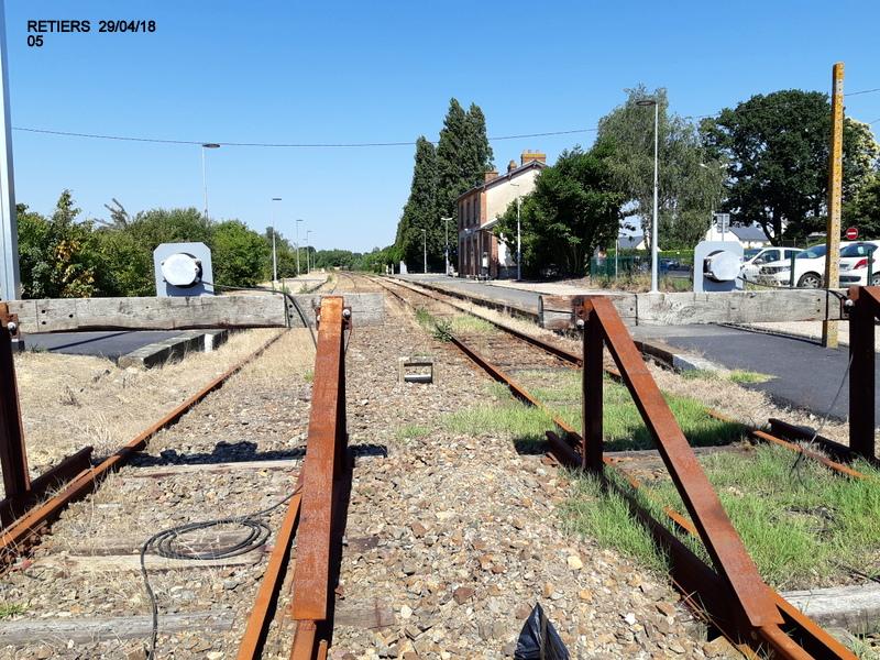 RETIERS -CHATEAUBRIANT : une ligne coupée depuis septembre 2017 20180102
