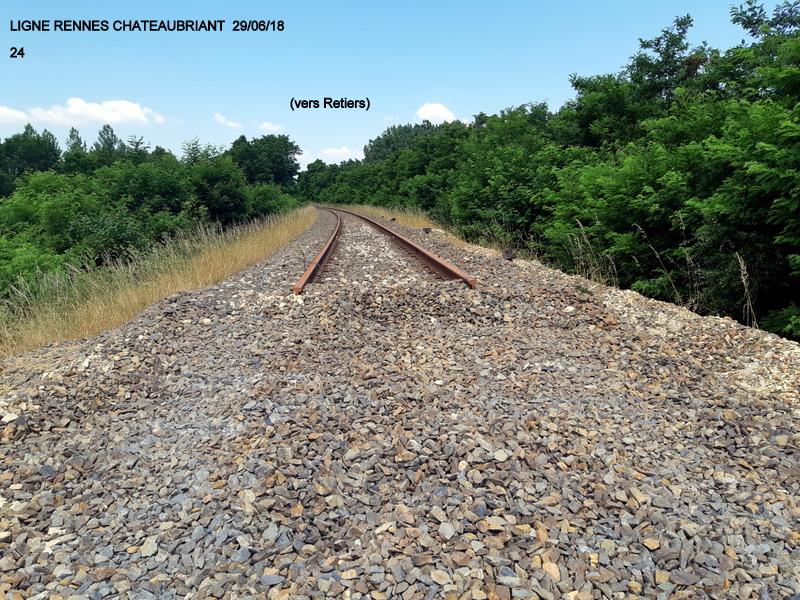 RETIERS -CHATEAUBRIANT : une ligne coupée depuis septembre 2017 20180121