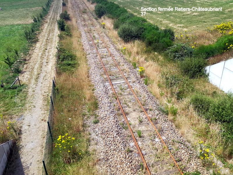 RETIERS -CHATEAUBRIANT : une ligne coupée depuis septembre 2017 20180135