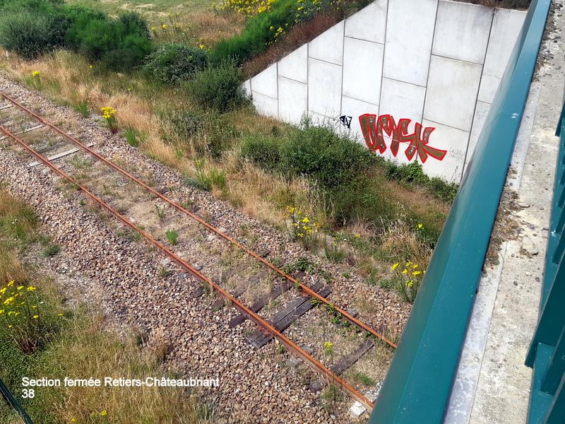 RETIERS -CHATEAUBRIANT : une ligne coupée depuis septembre 2017 20180136