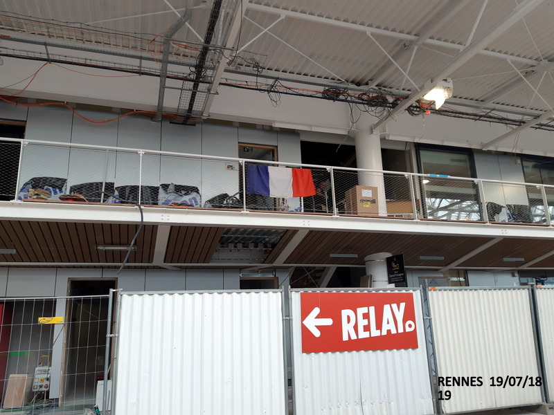 Gare de Rennes Point chantier : 19.07/18 20180193