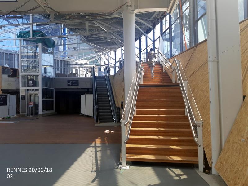 Gare de Rennes : point chantier 20/06/18 20180631