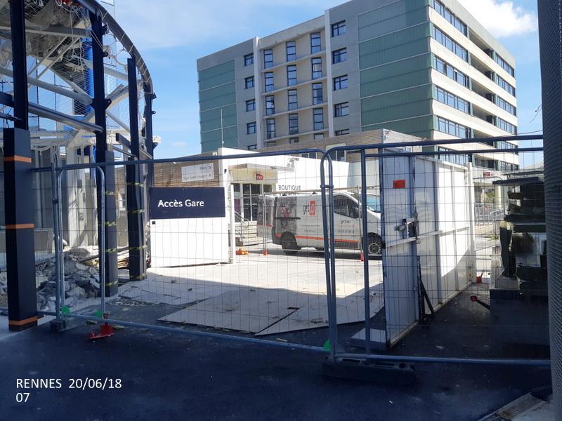 Gare de Rennes : point chantier 20/06/18 20180636