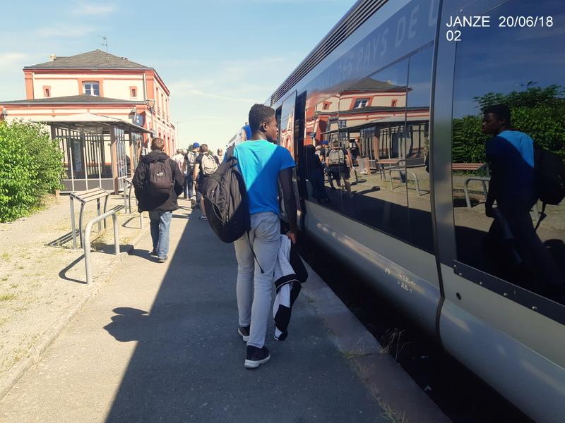 Ligne Rennes-Châteaubriant : Retiers Terminus (balade sur Janzé, Retiers 20/06/18) 20180640